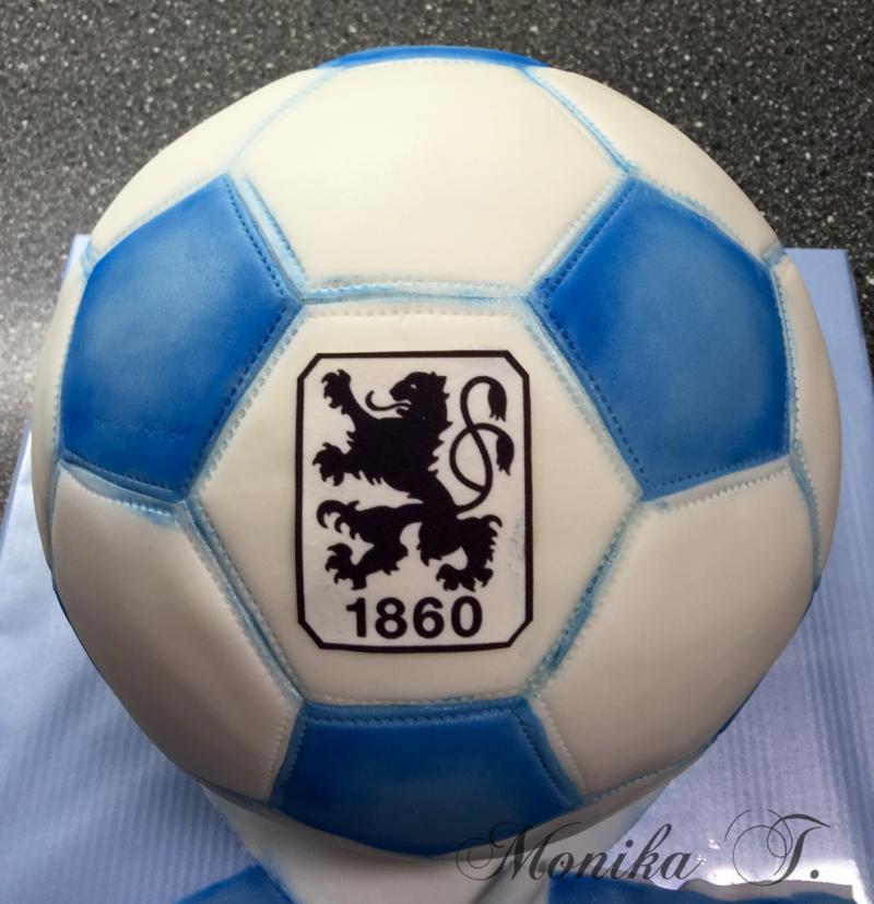 1860 Fußball Ball - Torte