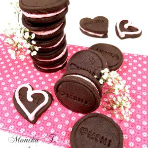 Kakao Kekse - wie Oreo