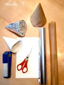 Schablone für Trdelnik Baumstriezel