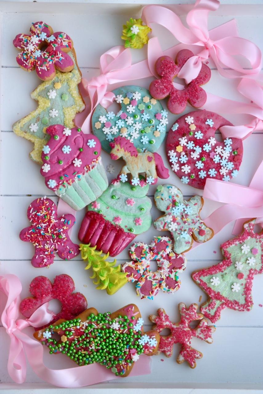 Lebkuchen mit Perlen