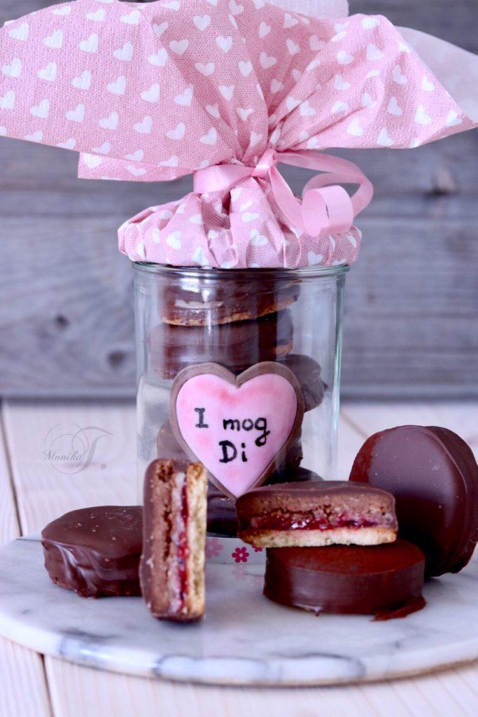 Valentinstags Kekse
