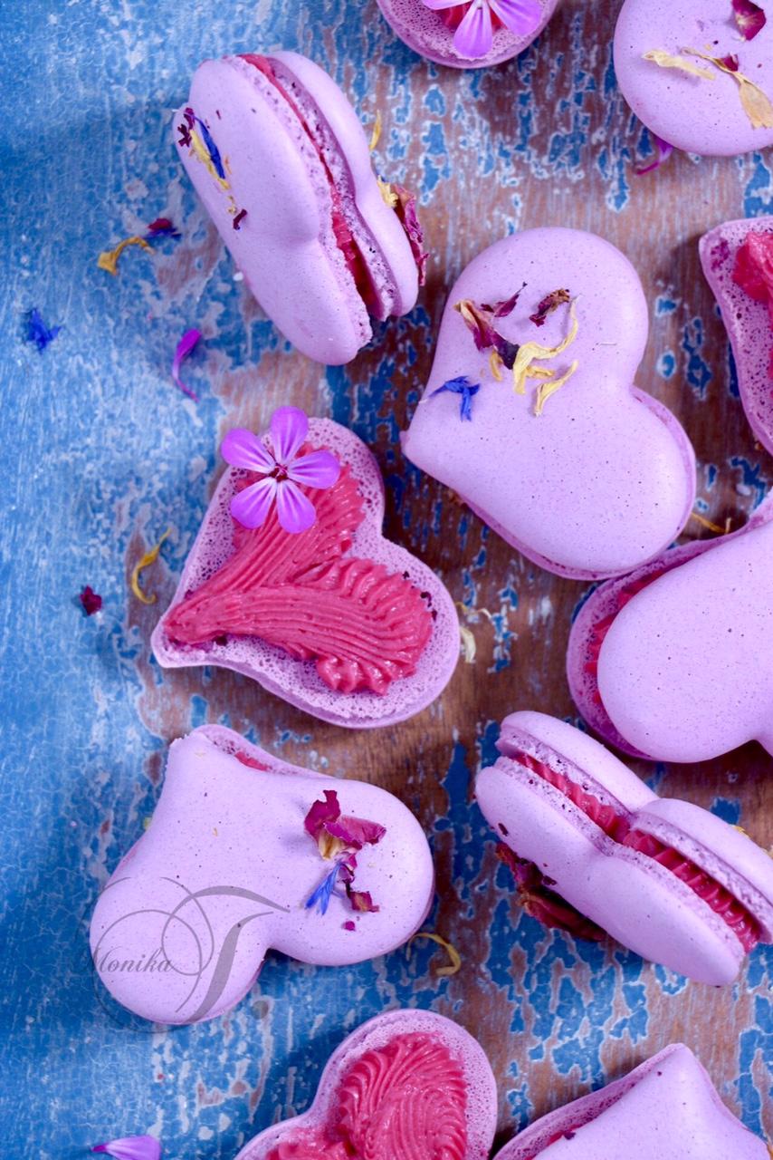 Macarons Herzen