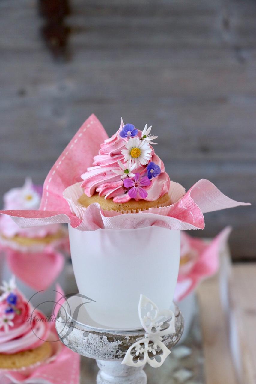 Cupcakes mit Baiser