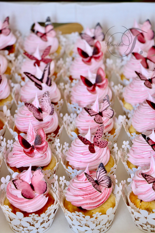 Schmetterlinge Muffins