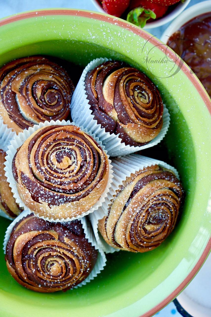 Schwarz - Weiß Muffins