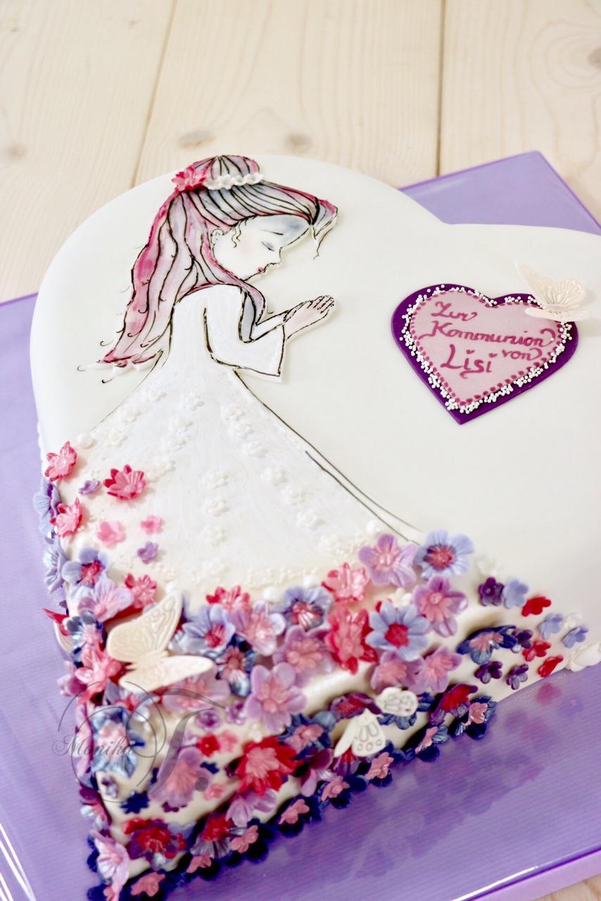Blumenmädchen Torte