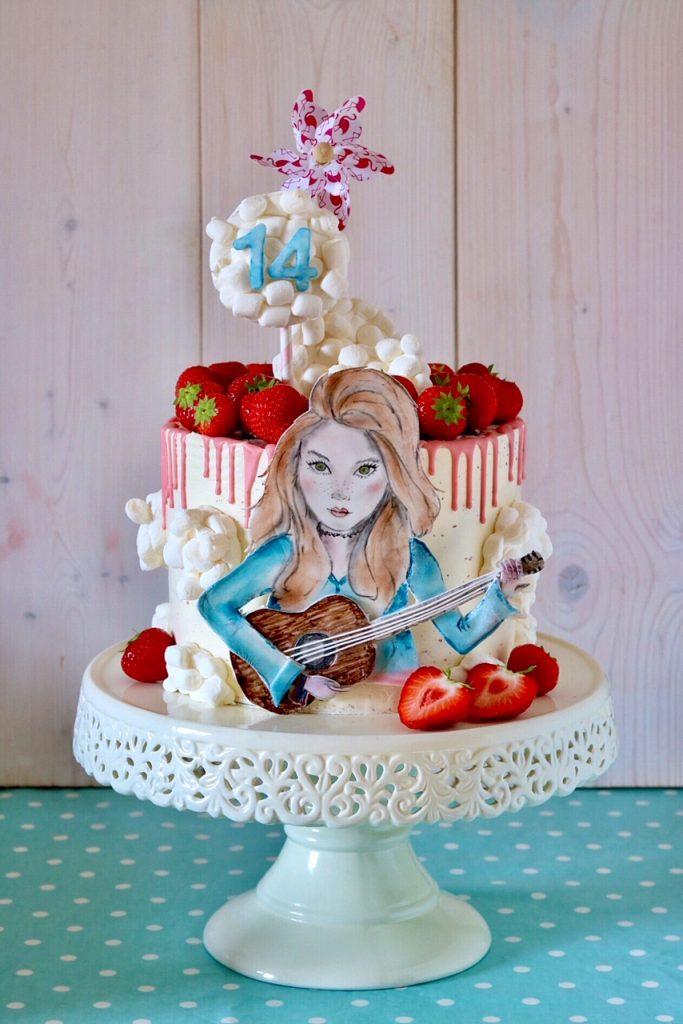 Geburtstagstorte für Anna