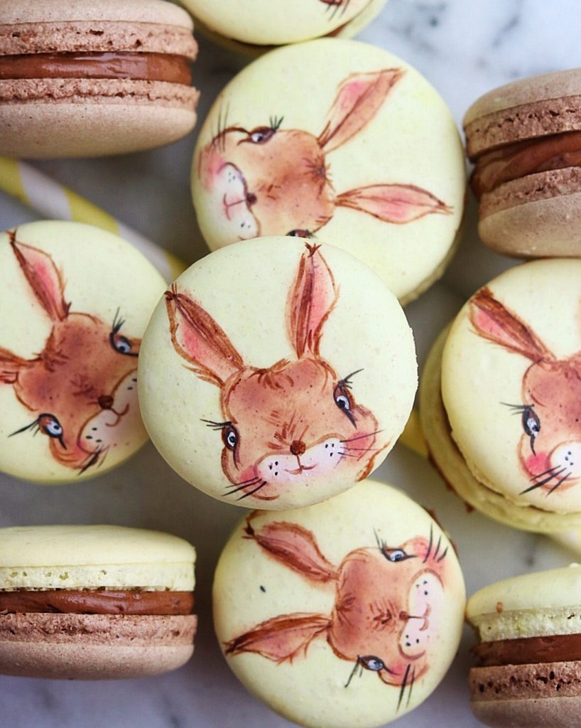 Osterhase Macarons